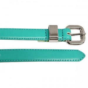 CARINA - Womens Turquoise Genuine Leather Belt - Belt N Bags