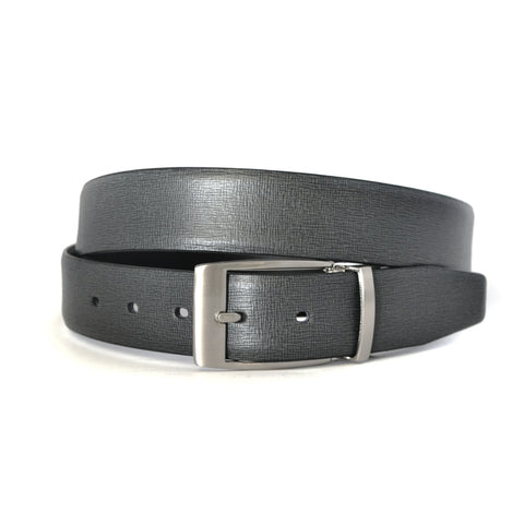 CLARKE - Mens Black Genuine Leather Belt