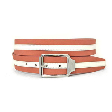 CLUIS - Unisex Rust Leather Belt