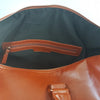 CANTERBURY - Tan Vegan Leather Overnight / Sports Bag - BeltNBags