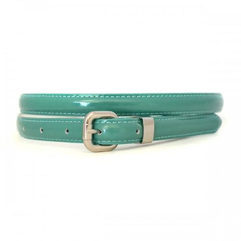 CARRIE - Womens Sea Green Leather Belt