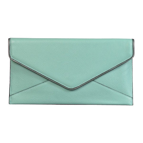 CASTLECRAG Genuine leather Clutch - Mint