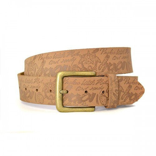 CHAD - Mens Brown Genuine Leather Belt