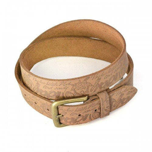 CHAD - Mens Brown Genuine Leather Belt - CLEARANCE  - Belt N Bags