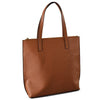 CHERMSIDE  - Cognac Structured Saffiano Shopper  - Belt N Bags