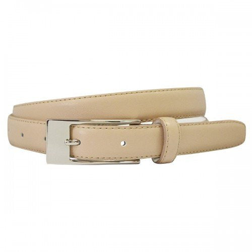 DEANEEN - Womens Latte Genuine Leather Belt  - Belt N Bags