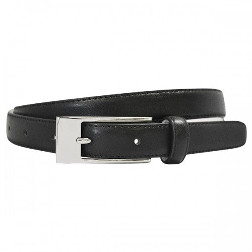 DEANEEN - Womens Black Genuine Leather Belt  - Belt N Bags