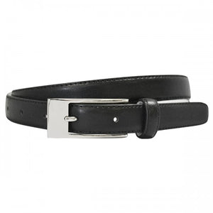 DEANEEN - Womens Black Genuine Leather Belt - BeltNBags