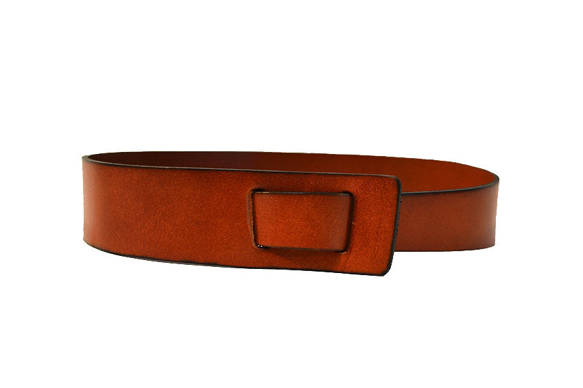 SEAFORTH - Brown Leather Knot Waist belt