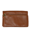 CREMORNE - Addison Road Brown Soft Pebbled Leather Fold Wallet - BeltNBags