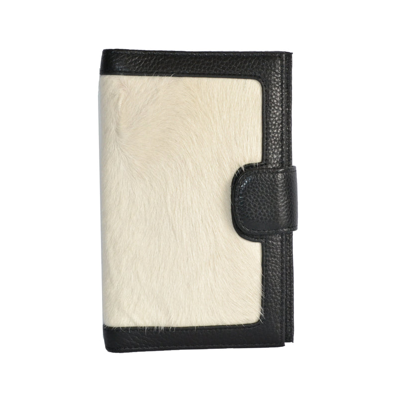 DARTBROOK- Ladies White  Cowhide Leather Cardholder Wallet Purse - AllBags4u