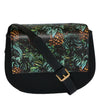 Cleo  - Womens Tropical Faux Leather Crossbody with Interchangeable Lids - CLEARANCE  - Belt N Bags