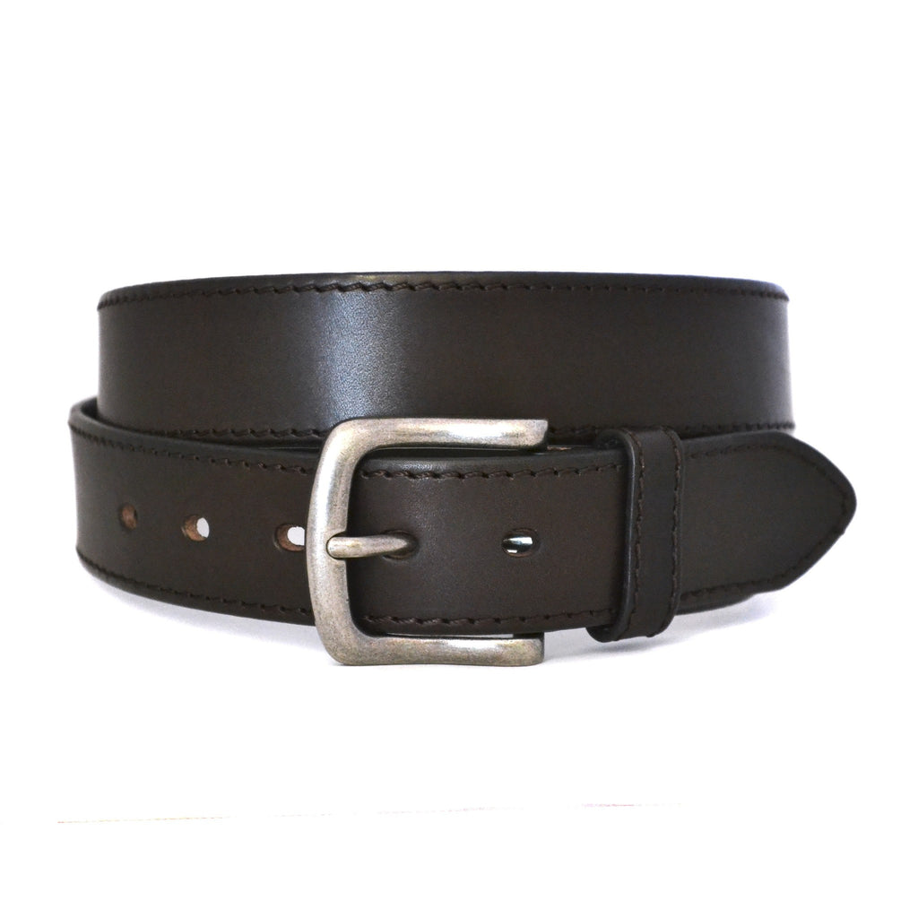 DERBY - Mens Brown Genuine Leather Belt - Belt N Bags