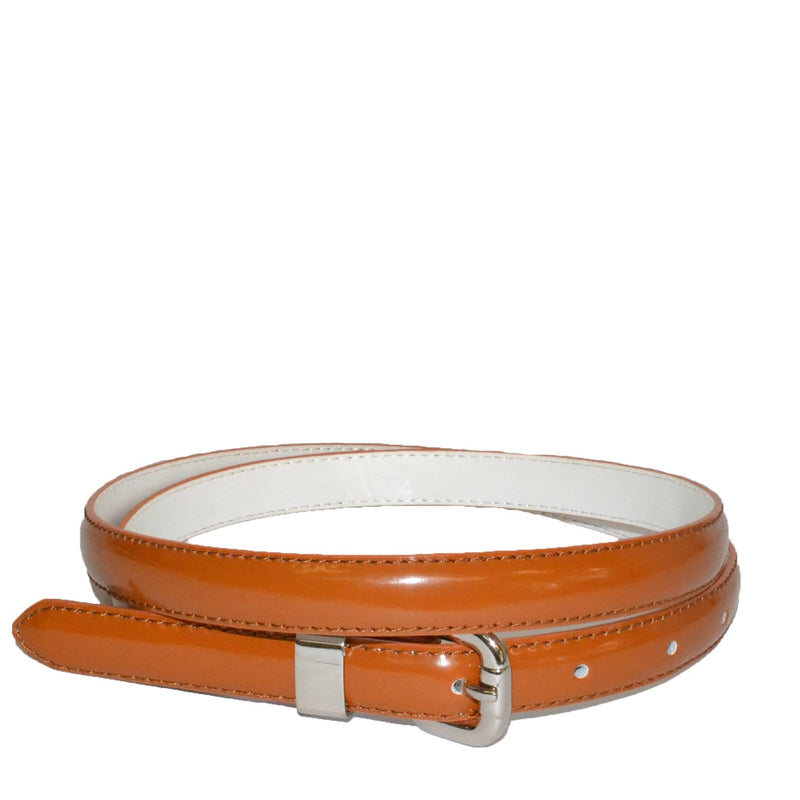 CARRIE - Light Brown Colour Genuine Leather Belt - BeltNBags