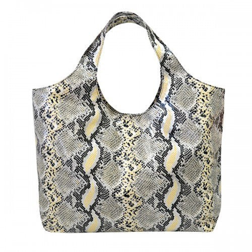 EVE - Womens Snake Print Tote Bag  - Belt N Bags