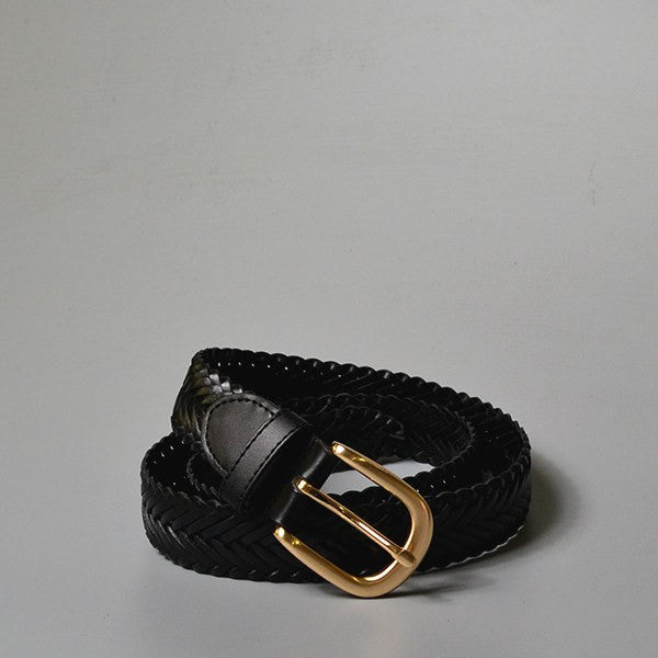 ERSKINVILLE- Addison Road Leather Belt - Black