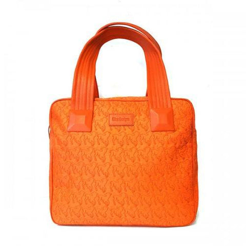 FARLEY - Sale! Orange Lamb Design Bag