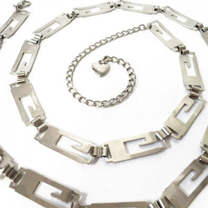 Gail - Women's Silver Jean Chain Belt for Jean or Dress - Belt N Bags
