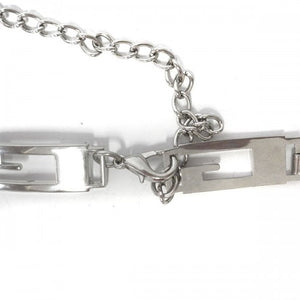 Gail - Women's Silver Chain Belt  - Belt N Bags