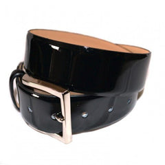 GRACE - Black Womens Leather Belt