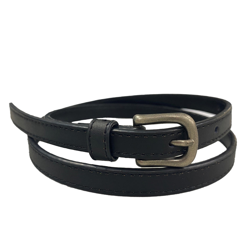 GYPSY - Black PU Leather Girls Belt