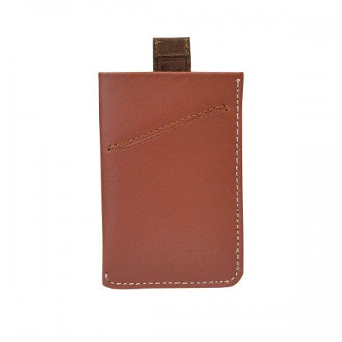 HARRIS - Mens Tan Genuine Leather Card Wallet - BeltNBags