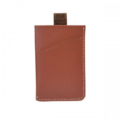 HARRIS - Mens Tan Genuine Leather Card Wallet