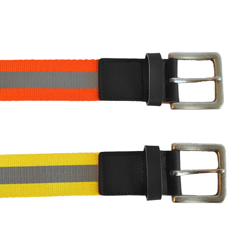 HI-VIS SAFETY BELT IN YELLOW  - Belt N Bags