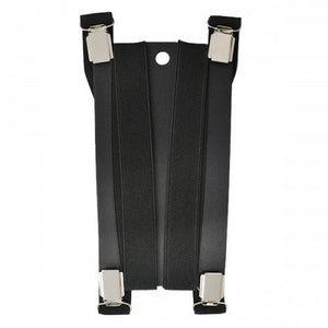HUGO - Mens Black Fashion Braces  - Belt N Bags