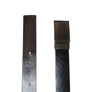HILTON - Mens Brown and Black Reversible Genuine Leather Belt  - Belt N Bags