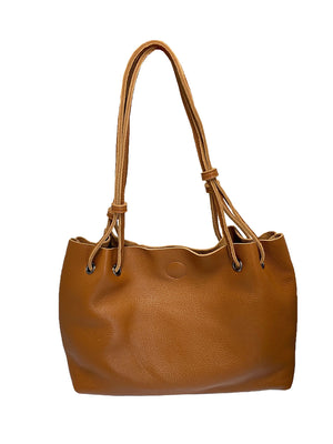 PEAKHURST - Women's Medium Tan Premium Leather Bag