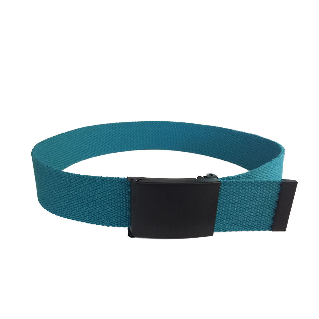 OTTO - Cotton Nylon Webbing Belt with Black Buckle