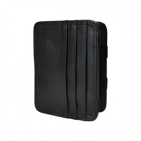 JARRED - Mens Black Genuine Leather Wallet
