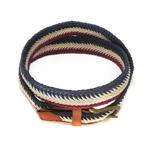 JAY - Mens Tri-Colour Webbing Belt - CLEARANCE  - Belt N Bags