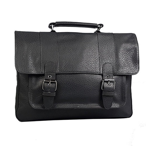 JUSTIN - Mr Selby Genuine Leather Satchel Bag-Mens Satchel-BeltNBags