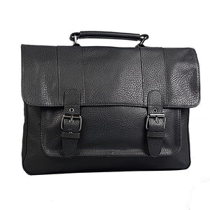 JUSTIN - Mr Selby Genuine Leather Satchel Bag-Mens Satchel-BeltNBags-BeltNBags