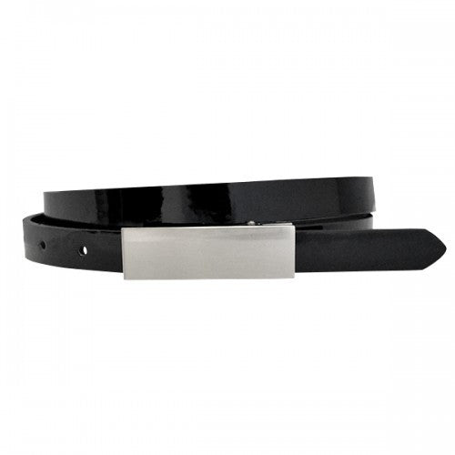 KIMBERLY - Womens Black Genuine Leather Belt - BeltNBags