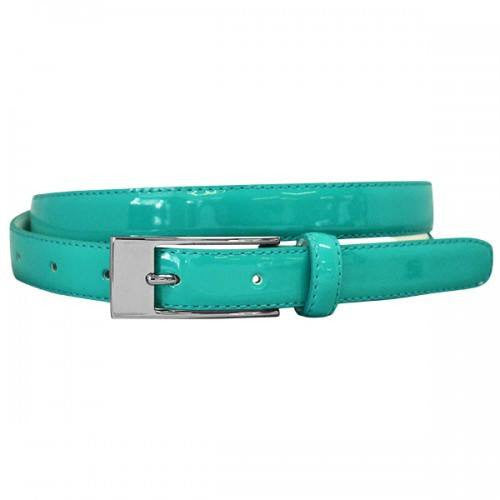 LACEY - Womens Turquoise Genuine Leather Belt
