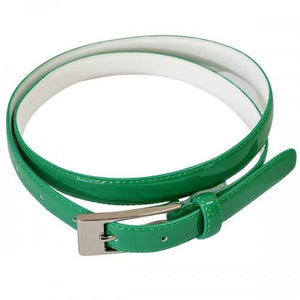 LACEY - Womens Emerald Green Genuine Leather Belt - BeltNBags