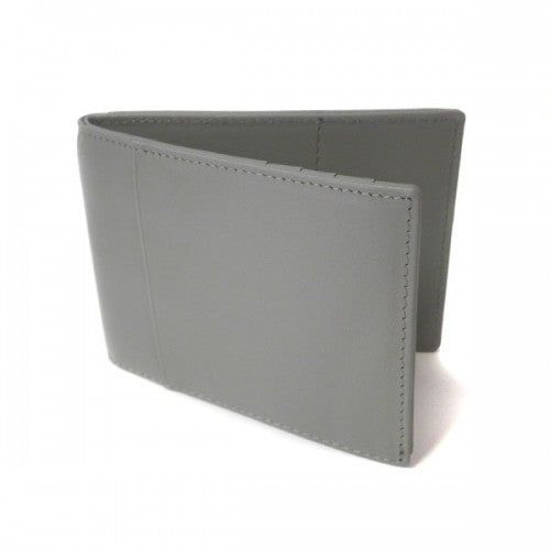 LAYNE - Unisex Grey Genuine Leather Wallet - BeltNBags