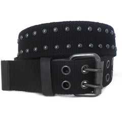 LEYLAND - Mens Black Canvas Belt