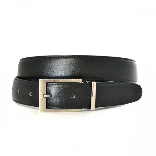 MATT - Boys Black Genuine Leather School Belt - BeltNBags