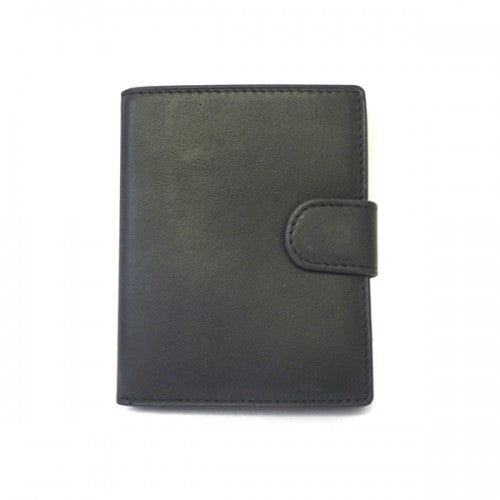MORTEN - Black Leather Wallet-men's wallet-BeltNBags-BeltNBags