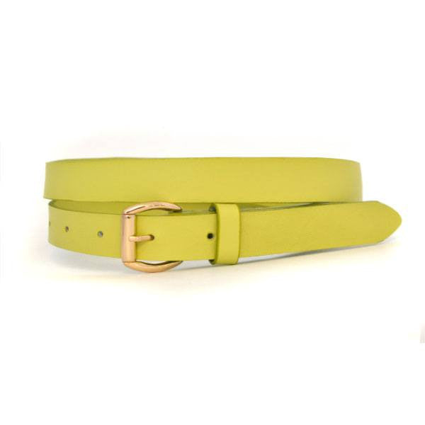 MYRA - Womens Green Genuine Leather Belt  - Belt N Bags