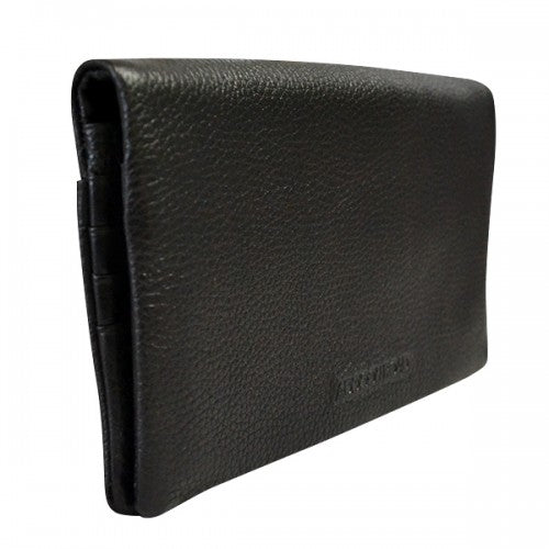 NEWPORT - Ladies Black Genuine Leather Wallet  - Belt N Bags