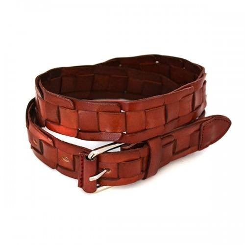 NORFOLK - Mens Tan Genuine Leather Belt - BeltNBags