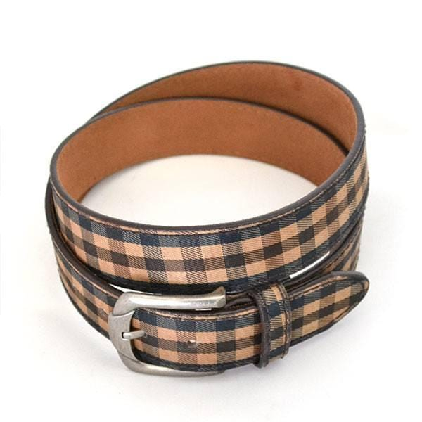 PIERRE - Unisex Brown Leather Belt / Golf Belt - CLEARANCE  - Belt N Bags