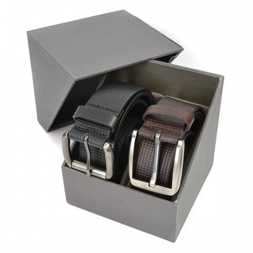 PALMER - Mens Twin Belt Gift Pack  - Belt N Bags