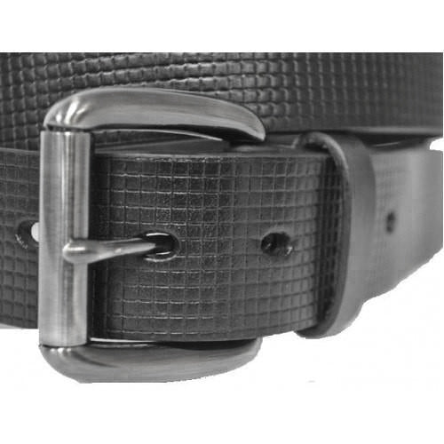 PALMER - Mens Black Leather Belt - BeltNBags