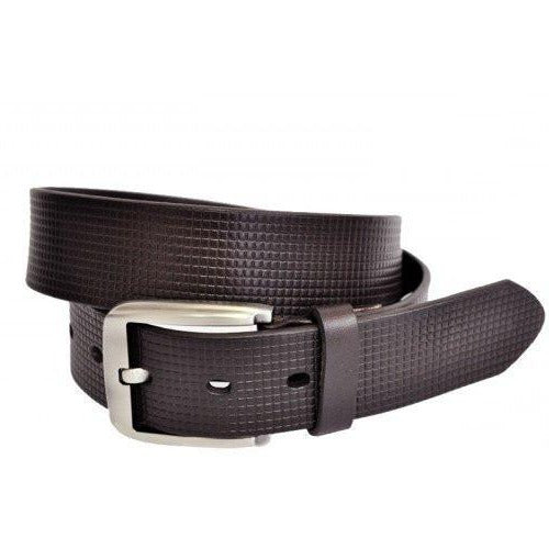 PALMER - Mens Brown Leather Belt